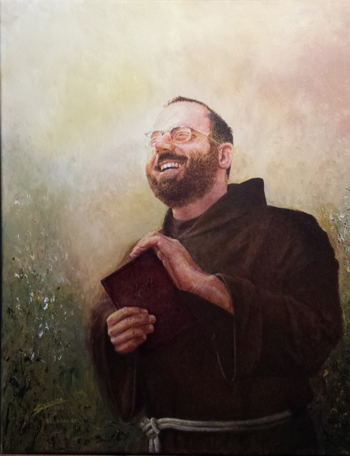 Bro. Mike painting 9x12